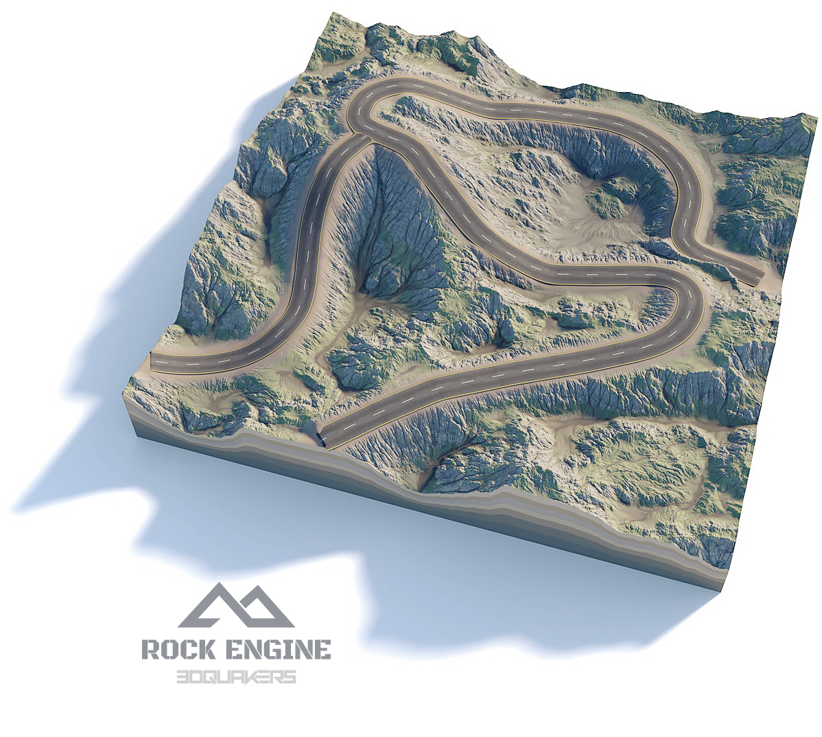 ROCK ENGINE PRODUCT PAGE - 3DQUAKERS